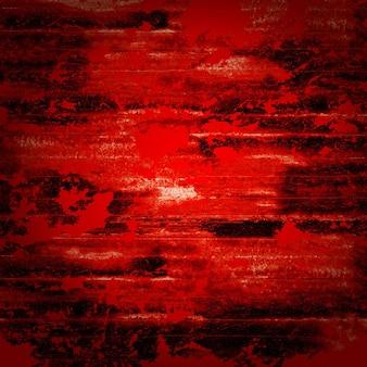 Fondo rosso sanguinante di orrore di lerciume astratto