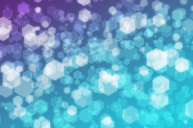 Abstract hexagon background white purple blue gradient