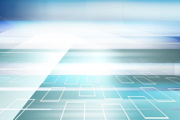 Fondo astratto dello spazio 3d ad alta tecnologia