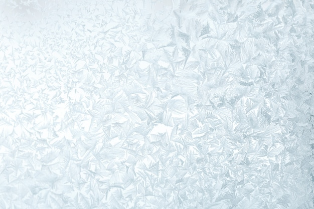 Abstract ice frosten texture pattern in inverno
