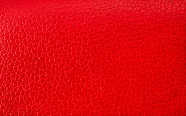 Fondo rosso di struttura di cuoio astratto