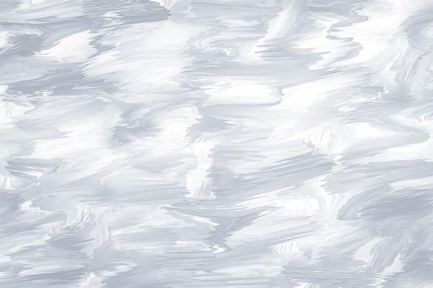 Parete dell'acquerello grigio chiaro astratto con pennellate. texture dipinte sfocate, disegnate. vernice fluida. inchiostro grigio su carta, colore pastello dell'illustrazione. motivo ondulato.