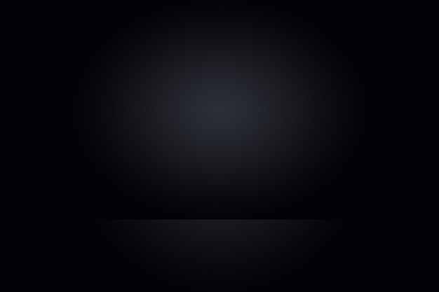 Sfocatura astratta di lusso grigio scuro e sfumatura nera, utilizzata come parete dello studio di sfondo per visualizzare i tuoi prodotti