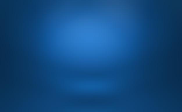 Sfumatura di lusso astratto blu. blu scuro liscio con vignetta nera studio