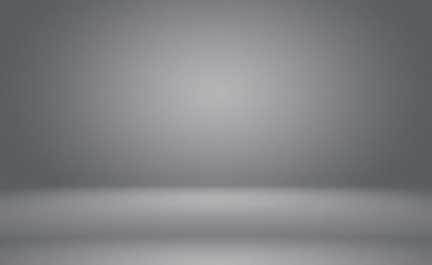 Sfumatura astratta di lusso pianura sfumatura grigia e nera utilizzata come parete dello studio di sfondo per visualizzare il tuo p...