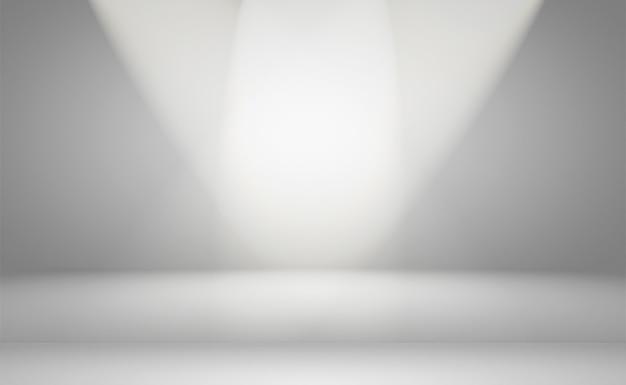 Abstract di lusso pianura sfocatura gradiente grigio e nero, utilizzato come sfondo muro dello studio per visualizzare i tuoi prodotti.