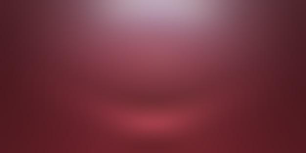 Astratto lusso morbido sfondo rosso natale san valentino layout design, studio, camera, modello web, relazione aziendale con colore sfumato cerchio liscio.