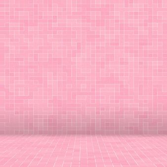 Abstract di lusso dolce rosa pastello tono parete piastrelle per pavimento in vetro seamless pattern mosaico texture di sfondo per materiale di mobili.