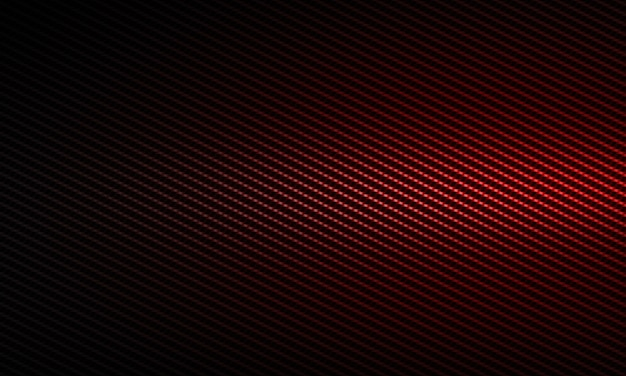 Progettazione materiale strutturata moderna astratta rossa della fibra del carbonio per fondo, carta da parati, progettazione grafica