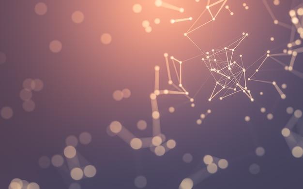 Molecole astratte, punti e linee di collegamento