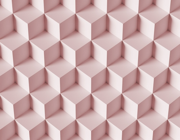 Priorità bassa astratta del mosaico con i cubi 3d