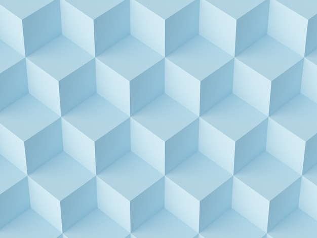 Cubi di mosaico astratto