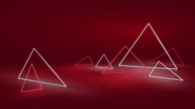 Neon astratto o sfondo led
