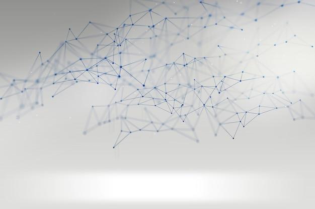 Sfondo di rete astratta