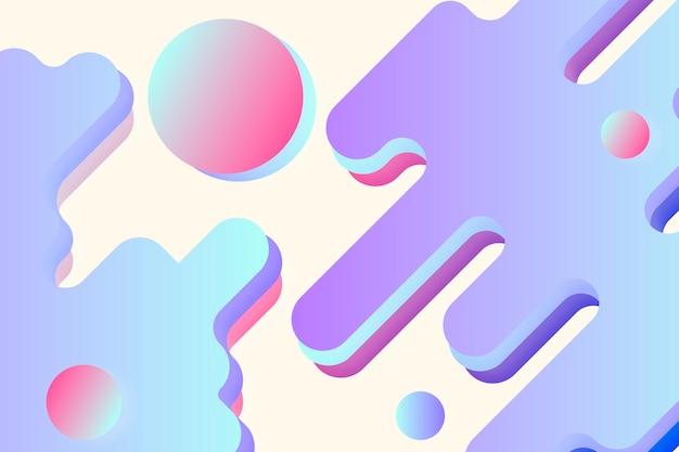 Illustrazione di sfondo fluido viola astratto