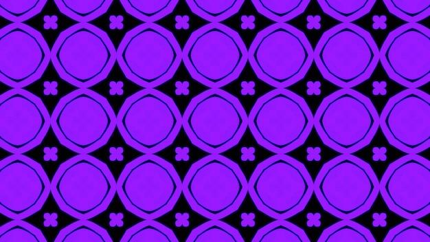 Fondo senza cuciture geometrico viola astratto del modello foto premium
