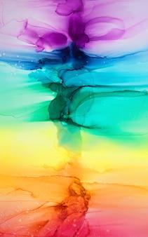 Sfondo colorato arcobaleno astratto