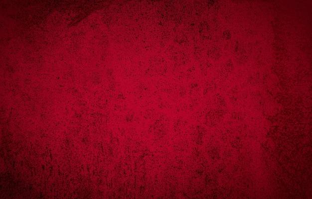 Trama di sfondo astratto muro rosso di un vecchio muro di cemento.