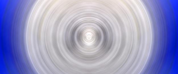 Fondo bianco e blu rotondo astratto