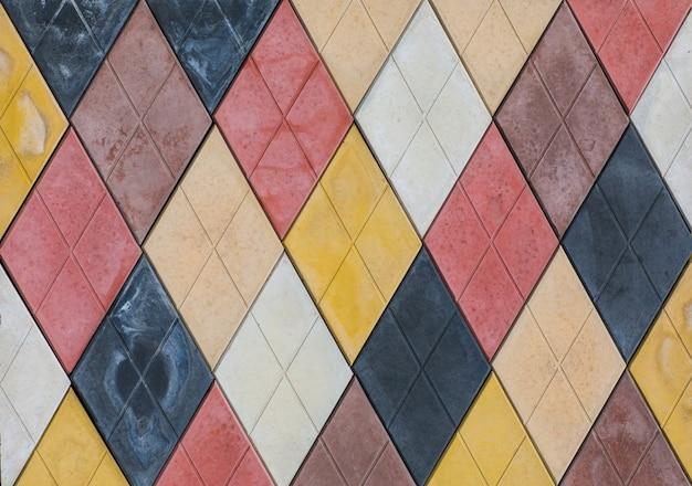 Piastrelle di ceramica con motivo a mosaico astratto senza soluzione di continuità per interni