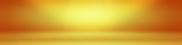 Progettazione del layout di sfondo della parete marrone liscia astratta, studio, camera, modello web, relazione aziendale con colore sfumato del cerchio liscio