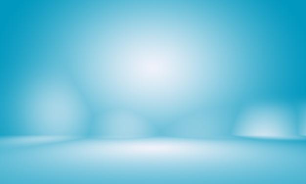 Astratto liscio blu scuro con vignetta nera studio ben utilizzato come sfondo, report aziendale, digitale, modello di sito web, sfondo.