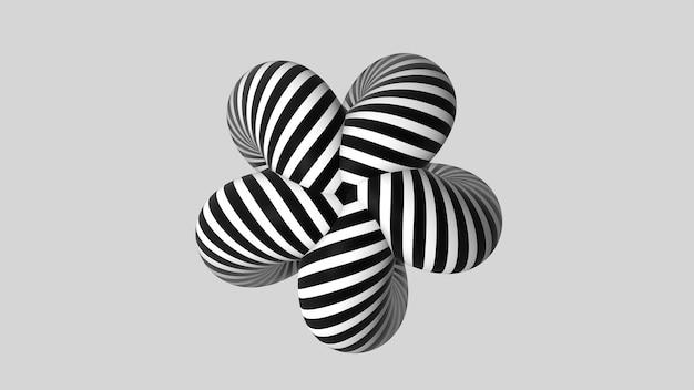 Forma a strisce astratta