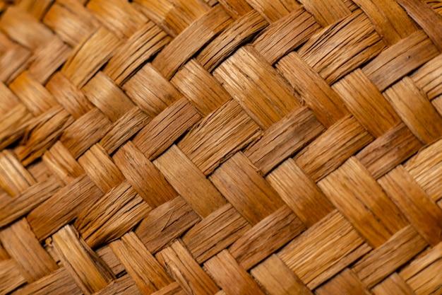 La struttura astratta del modello del cappello di paglia di estate