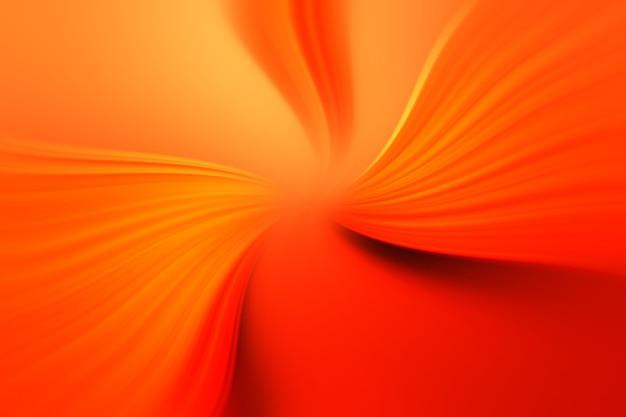 Superficie astratta dello zoom radiale della sfocatura nei colori arancioni, rossi e gialli