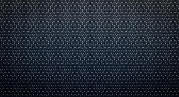 Fondo esagonale tecnologico astratto. rendering 3d