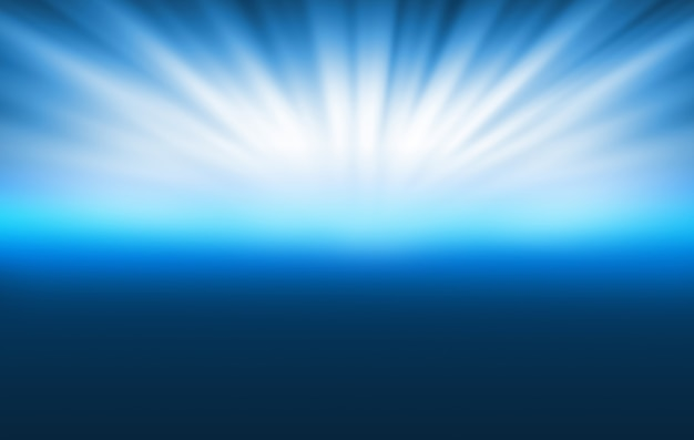 Fondo astratto di tecnologia con i raggi luminosi a sky