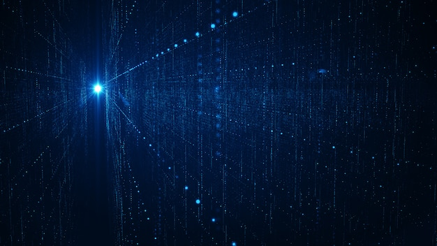 Grande concetto astratto del fondo di dati di tecnologia.