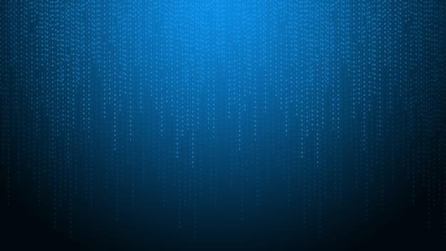 Sfondo del codice binario di tecnologia astrattadati binari digitali e concetto di dati sicuri