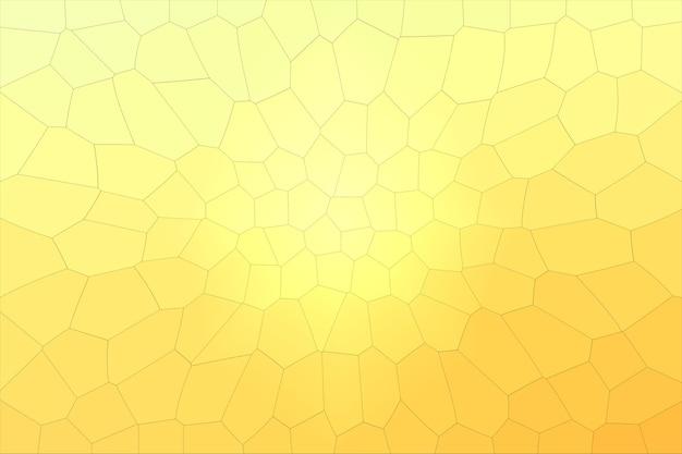 Mosaico di sfondo texture astratta con un colore giallo-arancione