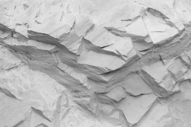 Struttura astratta della pietra dipinta di bianco
