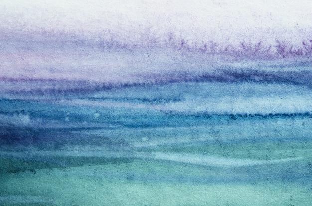 Struttura astratta della vernice della mano dell'acquerello.