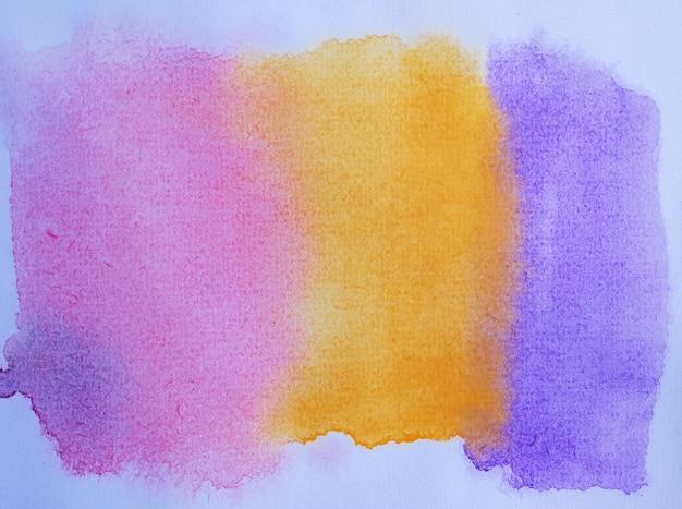 Gradazione dipinta a mano dell'acquerello astratto per lo sfondo