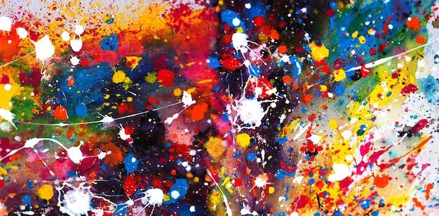 Priorità bassa astratta della pittura ad acquerello.