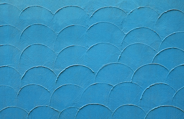 Struttura astratta della parete di stile dell'onda