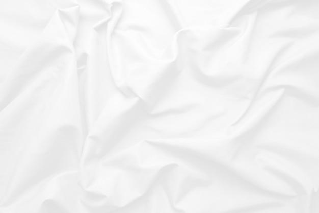 Sfondo bianco astratto e tono grigio, onda morbida di tessuto che si sovrappone al concetto moderno di ombra, spazio per il testo o il messaggio web e il design del libro