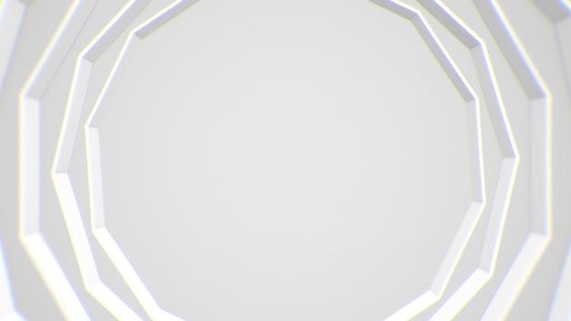 Astratto sfondo bianco cornice moderna