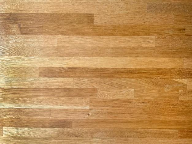 Fondo giallo naturale della quercia di legno astratta.