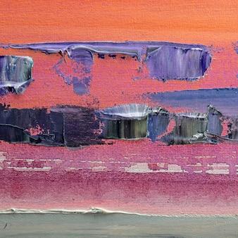Astrazione pittura a olio semplice arte