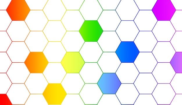 Abstrat lgbt arcobaleno sullo sfondo concetto di diversità sessuale