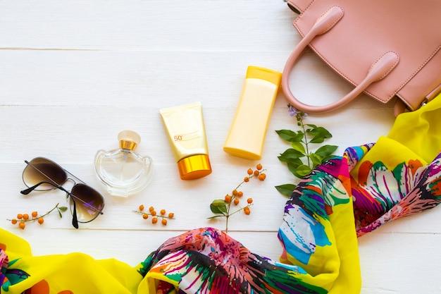 Accessori cosmetici di lifesltye donna relax