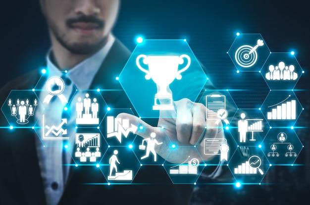 Realizzazione e concetto di successo obiettivo aziendale