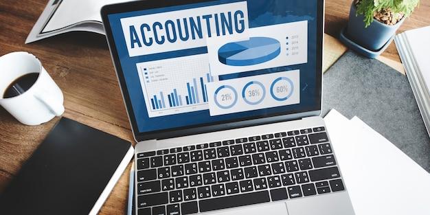 Contabilità auditing bilancio contabilità capitale concept