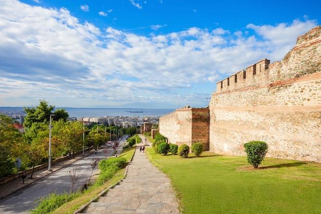 Acropoli di salonicco, in grecia