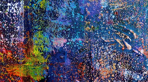 Pittura acrilica sul fondo dell'estratto di struttura della tela