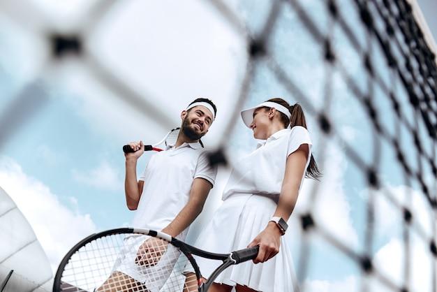 Weekend attivo insieme amanti del tennis